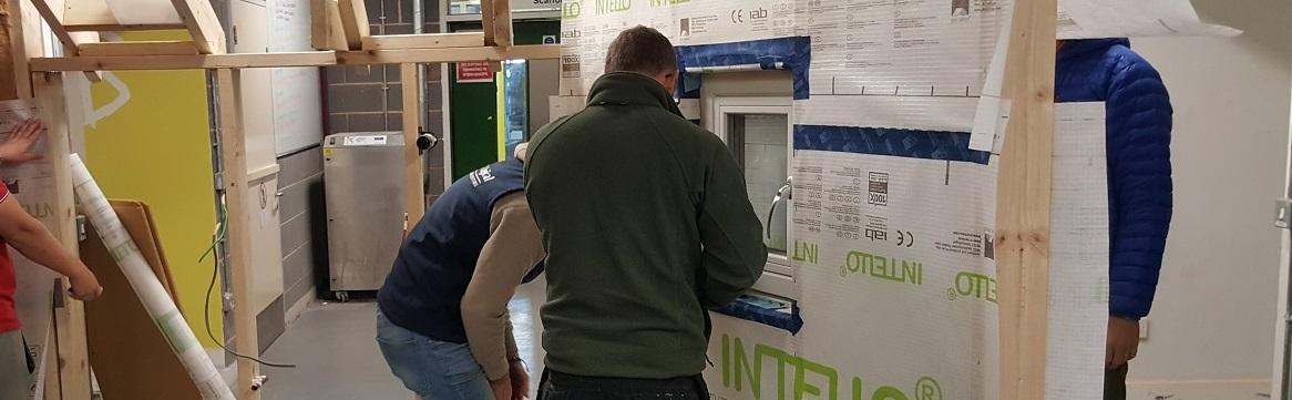 Training builders in Passivhaus techniques